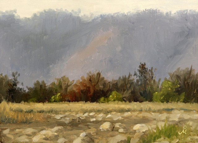 blue-mountains-at-corbett-national-park-landscape-painting-mandar-marathe